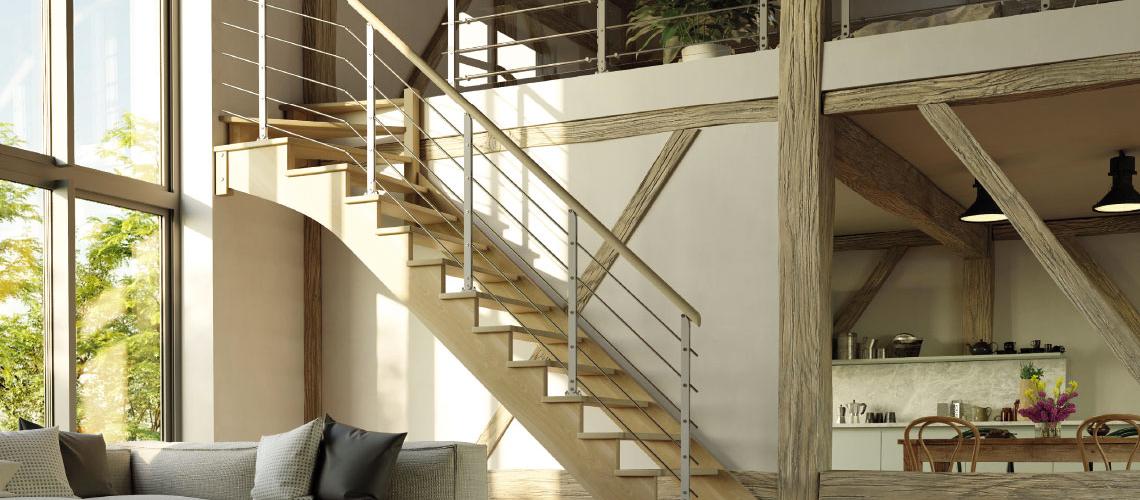 Escalier Sur Mesure Menuiserie Industrielle Beze