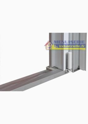 Porte Fenetre Pvc 2 Vantaux 215 X 120 Avec Volet Roulant Electrique